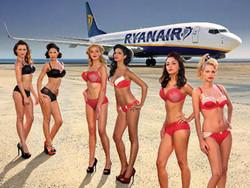 Ryanair снова раздела своих стюардесс
