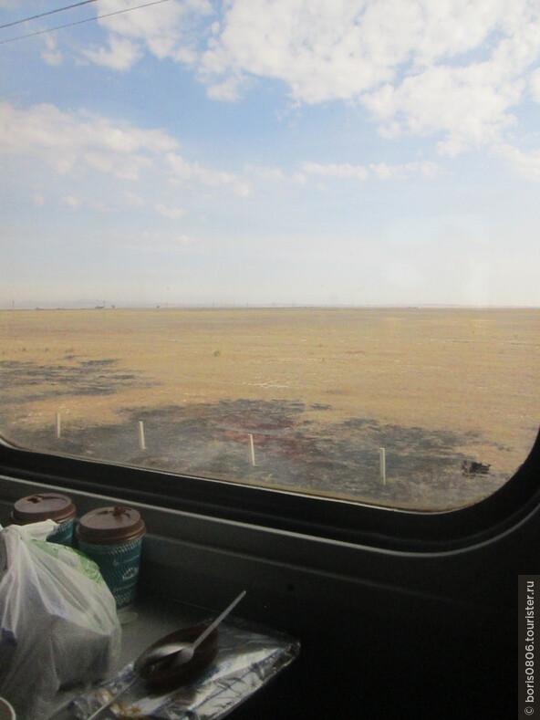 Фирменный поезд 9 Байтерек Алмааты-Астана (Нурсултан) и его свойства