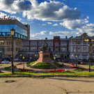 Площадь Народного единства в Нижнем Новгороде