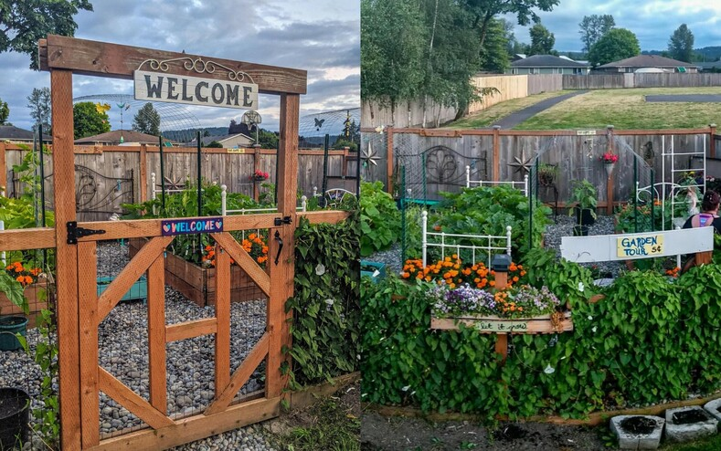 Из кучи грязи в райское местечко пользователи показали, во что они превратили свой сад во время карантина (12 уютных снимков)