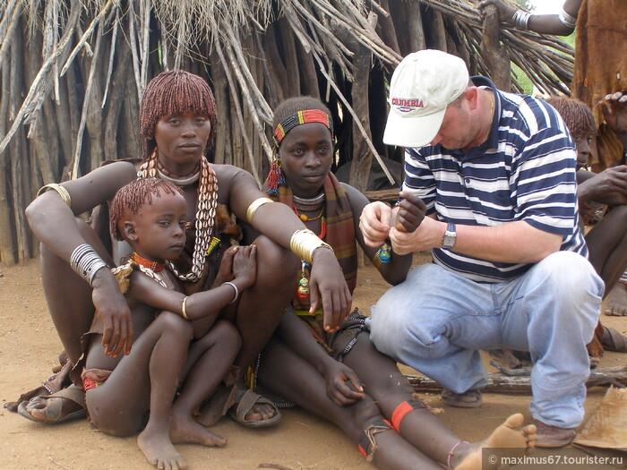 Свадьба в племени Хаммер