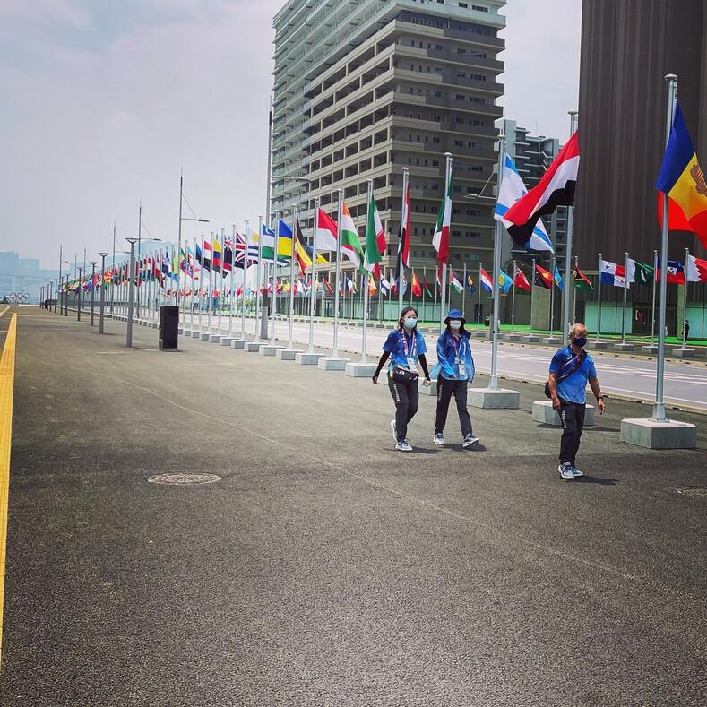 В Токио открыли Олимпийскую деревню: фото о том, как комплекс выглядит изнутри