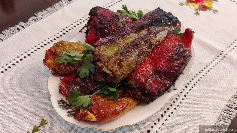 Ленивые перцы по-македонски