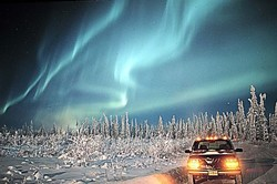 Финляндия и Норвегия не поделили северное сияние
