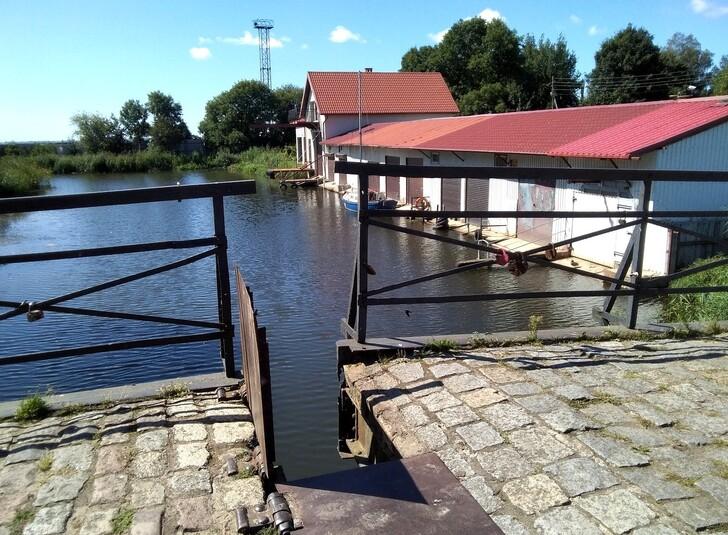Амтский мост в Приморске