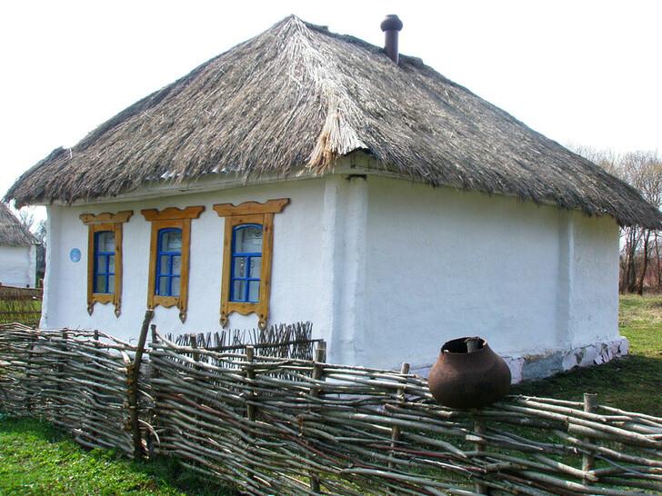 Дом в этно-деревне «Кострома»