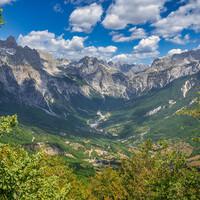 Национальный парк Тети. Албанские Альпы.