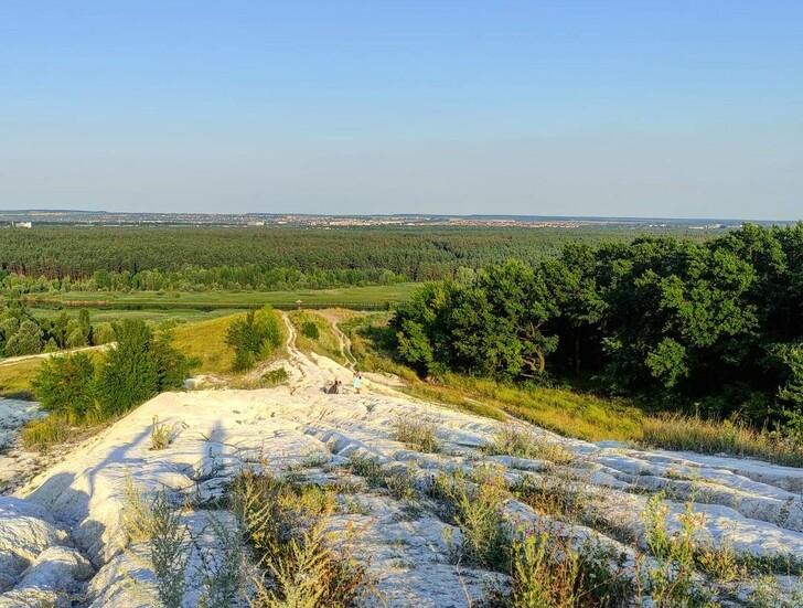 Гора Меловая в Белгороде