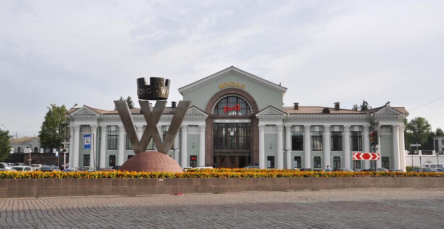 Ж/д вокзал Выборга