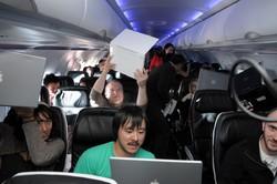 В самолетах появится интернет. Ждём