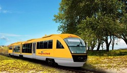 В Чехии запущен первый частный поезд
