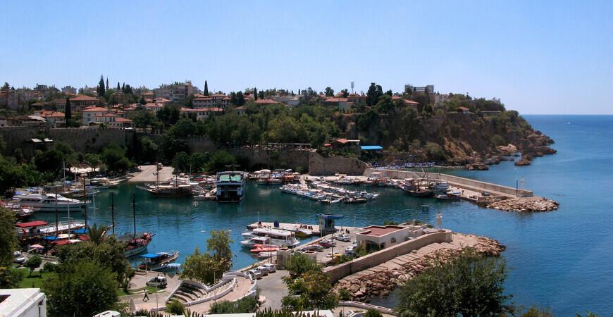 Старый порт Анталии
