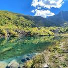 Озеро Запятая (Гаммеш-Чат)