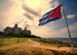 Куба замерзает