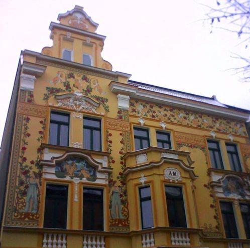 Центральная улица теплице чехия