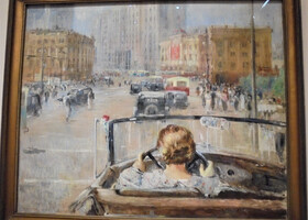 Выставка Юрия Пименова в Новой Третьяковке