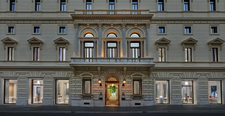Фирменный магазин Apple в Риме