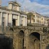 парадные ворота верхнего города