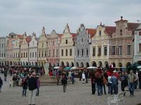Город и замок Телч (Чехия)