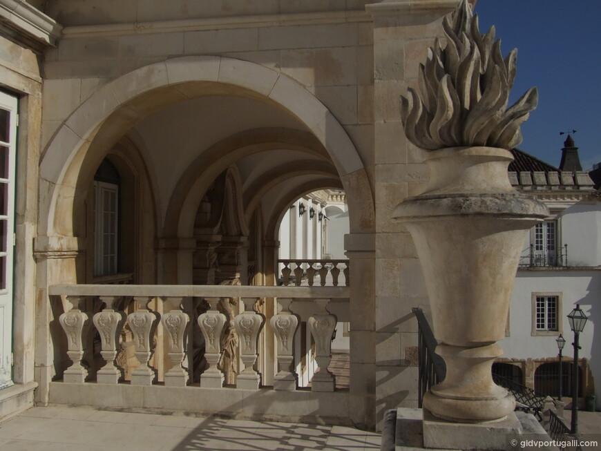 вид с балкона при бывшем тронном зале