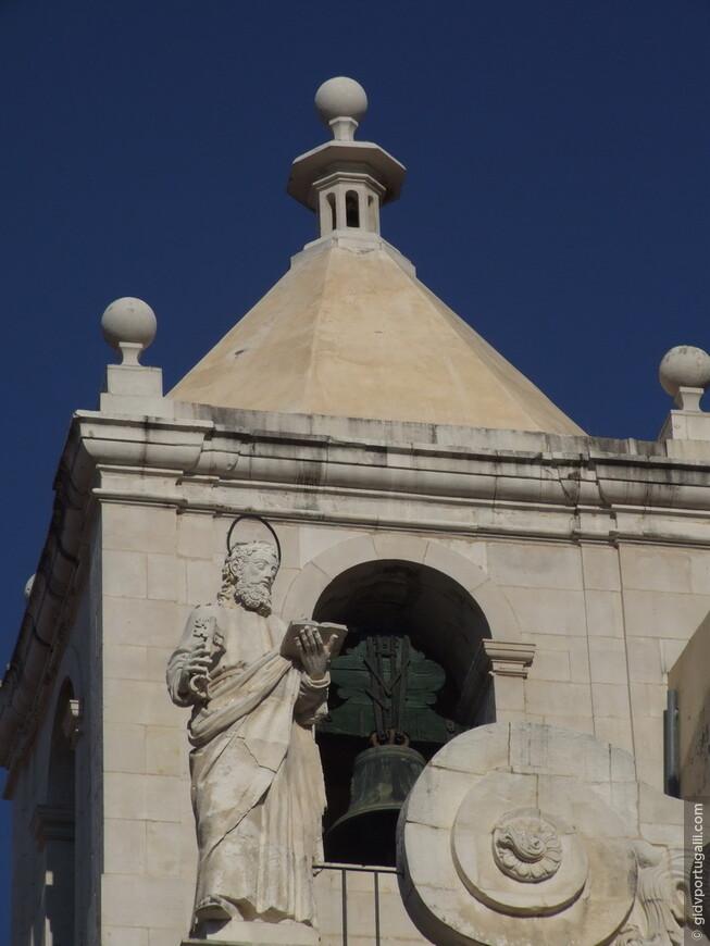 Фрагмент фасада Нового Кафедрального Собора