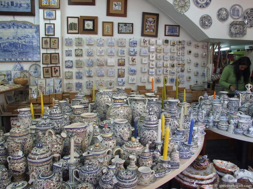 расписная керамическая посуда