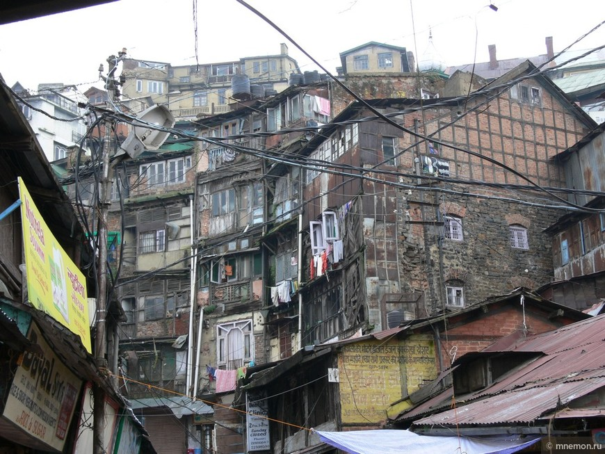Типичное жильё в Шимле