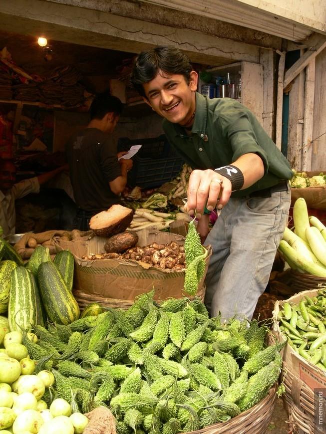 Рынок в Шимле