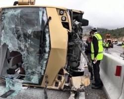 В автокатастрофе в Турции погиб один турист