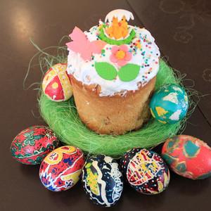 С праздником Весны и светлой Пасхи!