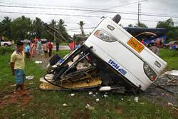 В Таиланде разбился автобус с россиянами, один человек в реанимации