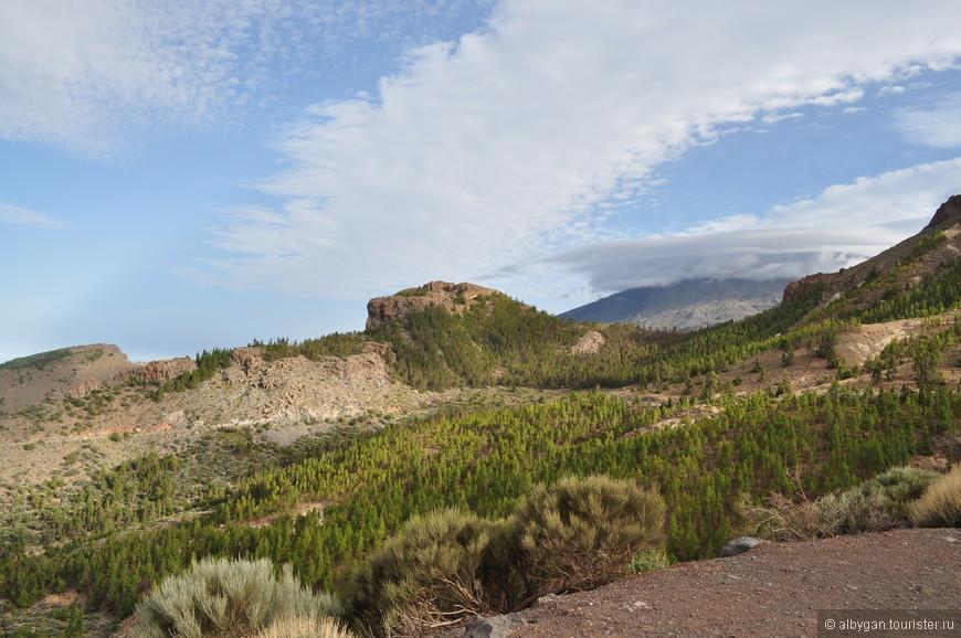Вулкан Тейде уже рядом