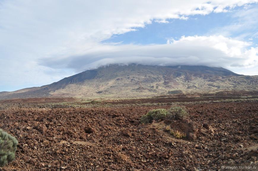 Следы извержения