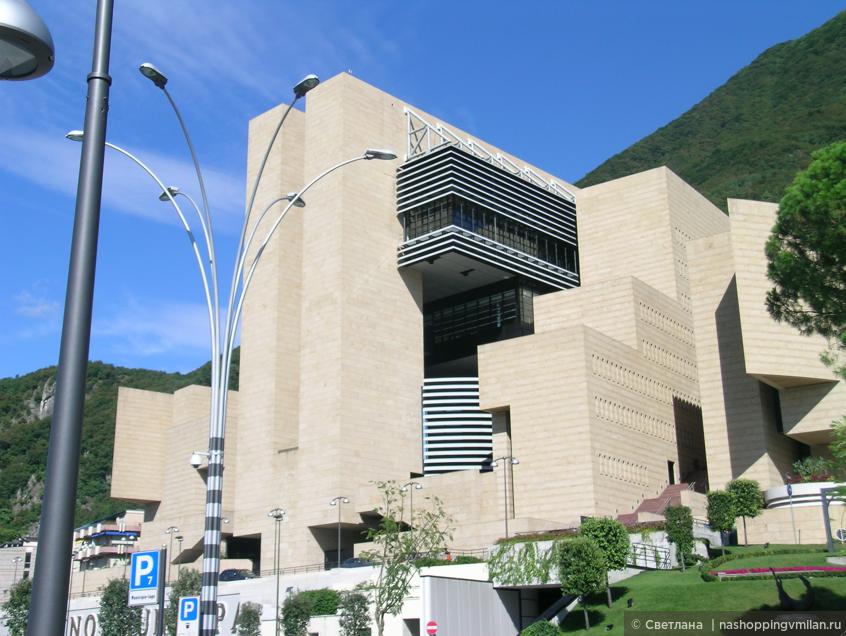 казино Кампионе ди Италия  (архитектор Марио Ботта)