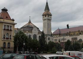 Тыргу Муреш - центр (Румыния,Трансилвания)