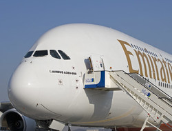 A380 с декабря будет выполнять регулярные рейсы в Москву