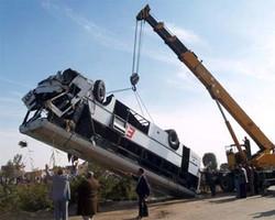 В Польше перевернулся автобус с россиянами, гид находится в тяжелом состоянии