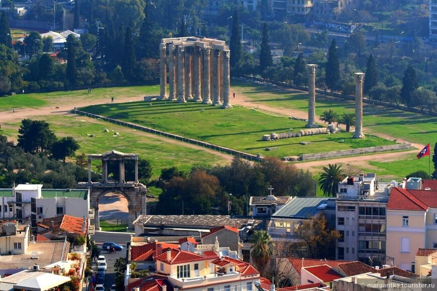 Афины. Храм Зевса у Капитолийского холма (15).JPG