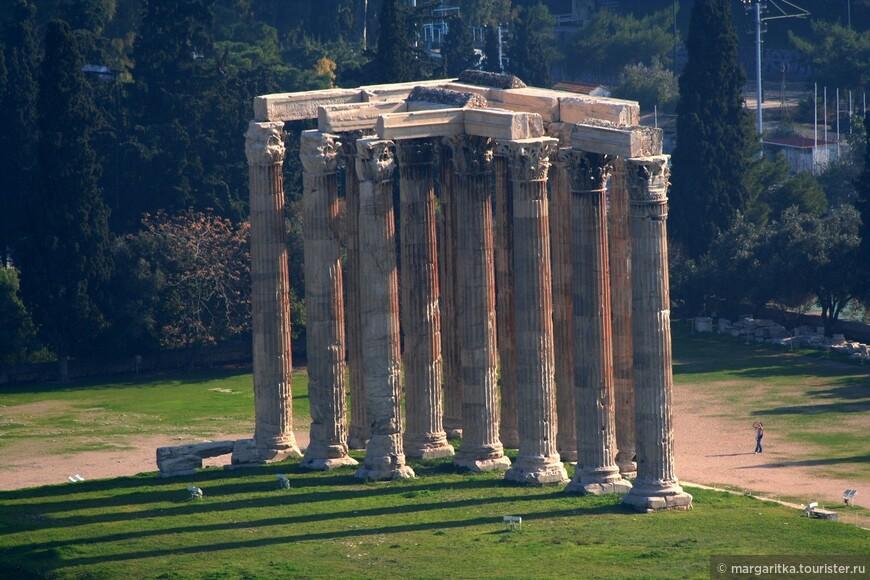 Афины. Храм Зевса у Капитолийского холма (16).JPG