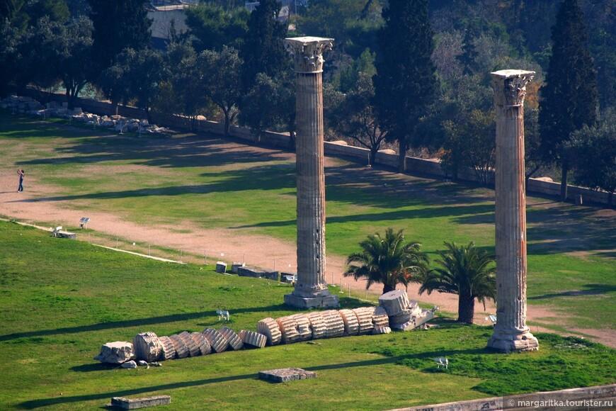 Афины. Храм Зевса у Капитолийского холма(13).JPG