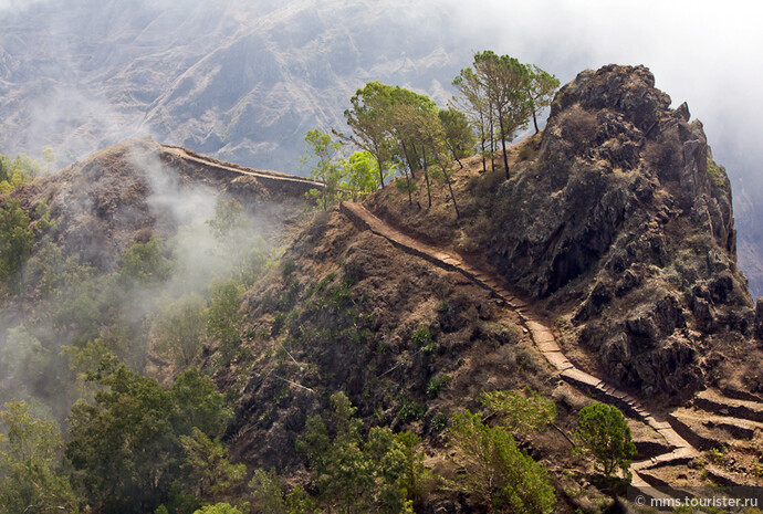 Санто Антао: остров, облако, рай…