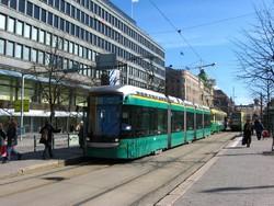 Паромный терминал Хельсинки и центр города соединили трамваем
