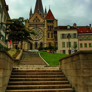 Швейцария. Лозанна.