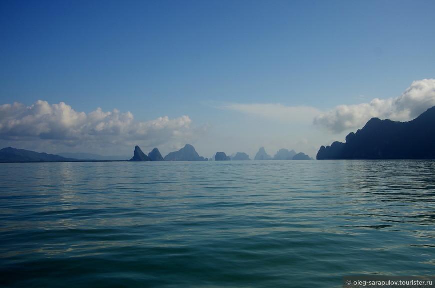 Острова провинции Phang Nga Bay