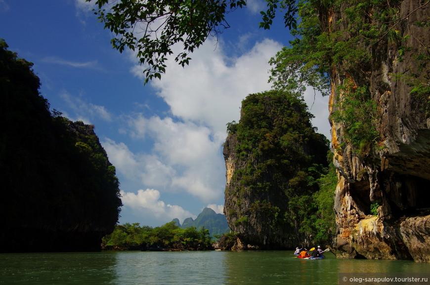 острова Phang Nga