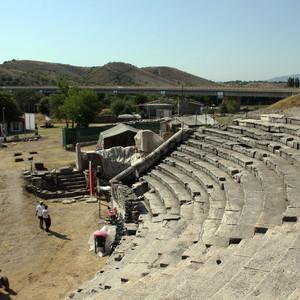 Древний город Стобы
