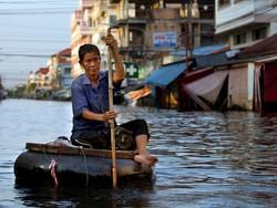 Столица Таиланда переживает мощное наводнение