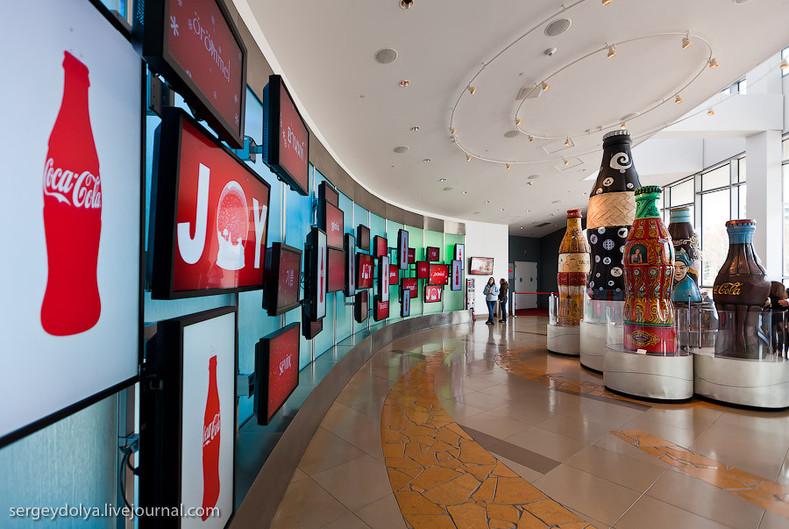 Где находится штаб-квартира компании Coca-Cola?