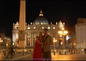 Романтический Рим Димы и Лены