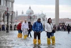 Венеция снова ушла под воду